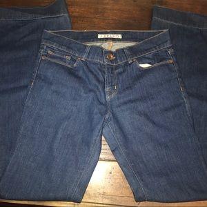 J brand bell bottom pants